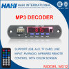 12V placa do decodificador do MP3 do cartão do USB TF com controlador