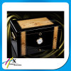 Il Humidor di legno di qualità superiore del sigaro del cedro spagnolo accetta l'ordine su ordinazione