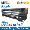 UV Roll to Roll Printer Printing Machine Sinocolor Ruv - 3204 Digital Printer Wide Format Printer