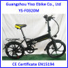 Bici eléctrica plegable con la batería ocultada