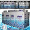 Congelador empaquetado sola puerta del compartimiento del almacenaje del hielo con las ilustraciones de la insignia