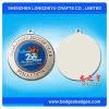 Deporte de las medallas de la insignia de la impresión de la medalla del tenis de vector del laminado del color del oro