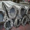 Manguito acanalado trenzado del metal del acero inoxidable