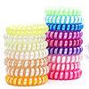 Populäre Telefon-Netzkabel-Zeile elastische Haar-Gleichheit druckte Haar-Band