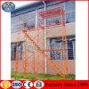 金属標準の建物の足場フレームシステム