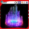 Fonte colorida ao ar livre da música clara da altura 2-3m da água