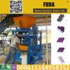 Máquina concreta manual pequena do tijolo de Qt4-24b