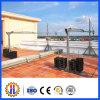 Plataforma suspendida cuerda eléctrica de la construcción de Zlp, plataforma de funcionamiento de la suspensión, horquilla, cesta