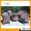 Nuovo disegno nessuna mobilia pranzante rotonda piegata del rattan della mobilia del giardino