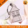 不動産の昇進(YT-1245)のための金属の家USBのフラッシュ駆動機構の最もよいギフト