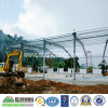 Fábrica de la estructura de acero o taller o edificio ligero