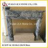 Cornija de lareira de mármore da chaminé para a decoração interior