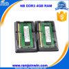 Ноутбук Испытано CL9 1333 RAM памяти 4GB DDR3 1333 с ETT Chips