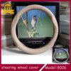 Coperchio del volante dell'automobile del cuoio genuino, per l'automobile speciale