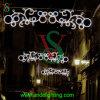 Großes im Freienled-Weihnachtslicht für Straßen-Dekoration