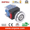 Onpow 30mm een Type Key Switch (LAS0-K30-11AY/21, Ce, CCC, RoHS)