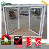 Doppia finestra del telaio di apertura del PVC