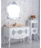Governo fissato al muro di vanità della stanza da bagno di legno solido e del compensato (LZ-131)