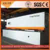 De Staalplaat die van het metaal De Hydraulische Scherende Machine van de Guillotine snijden Machine/CNC