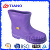 Ботинки дождя PVC пурпурового цвета удобные для повелительницы (TNK70011)