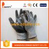13 Werkende Handschoenen Dcr118 van het Nitril Hppe van de maat de Grijze Nylon Spandex Gebreide
