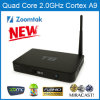 Dual Band WiFi를 가진 쿼드 Core Zoomtak T8 Android 텔레비젼 Box
