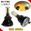 diodo emissor de luz Scooter Headlight de 40W 4000lm Hi/Low Beam 9012