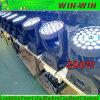 DJ 36X18W RGBWA UV 6in1 LED 급상승 세척 이동하는 맨 위 빛