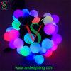フルカラーの防水LEDの球ストリングライト結婚式の装飾