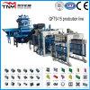 Qt9-15 Full Automatic Concrete Block Making Machine Cement Brick Making Machine à vendre