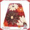 Tapete 100% Handmade do assoalho do poliéster da flor bonita