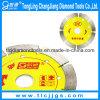 110 mm sinterizado segmentado circular de diamante Herramienta seco Hoja de sierra