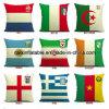 Het distinctieve Hoofdkussen van de Bank van de Polyester van 100%, de Dekking van het Hoofdkussen van de Bank voor de Kop van de Wereld van Rusland FIFA van 2018