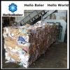 Automatic orizzontale Paper Baling Machine con Hydraulic Cylinder
