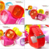 Promotion Silicone Watch, Made de Metal Silicone, 3ATM Waterproof, OEM Orders Are Welcome