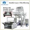 Co-extrusión de doble capa Rotary Die Máquina de película soplada (YXDL)