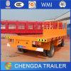 Aanhangwagen van de Container van het nut de Volledige, Flatbed Volledige Aanhangwagen 30ton