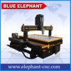 Axe chinois 3D de la machine 4 d'Ele 1324 découpant la machine de couteau de commande numérique par ordinateur avec le dispositif rotatoire pour la gravure du bois