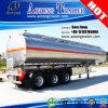 Adr TriBondgenoot 45cbm van het Aluminium van Assen Aanhangwagen van de Vrachtwagen van de Brandstof/Van de Olietanker de Semi voor Verkoop