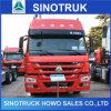 Cabeça do caminhão do trator de Sinotruk HOWO A7 6X4 420HP