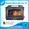 GPS A8 Chipset 3 지역 Pop 3G/WiFi Bt 20 Disc Playing를 가진 KIA Sportage 2011-2012년 Low를 위한 인조 인간 4.0 Car DVD Player Version