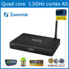 Últimas Android Quad Core 4.4 TV Box con Amlogic S805 Cortax A5 Malí 450 GPU + 1GB RAM / 8GB Flash / banda dual WiFi / Bluetooth / XBMC 13.2 Pre-Installedmedia jugador