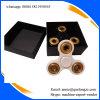 Tri-Spinner Unruhe-Spielzeug-Plastik-EDC-Unruhe-Goldfarben-Handspinner