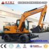Nuevo 6t 7t 8t excavador rodado 12t de Xiniu para la venta