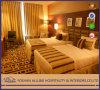 인도 국가 Inn와 Resort 알루미늄 Yd0107 Hotel Furniture Commercial Solid Wood Elegant Luxurious 침실 Set