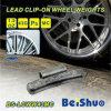 Peso de acero de la rueda del estilo de 0.50 onzas el 1/2 onza Mc