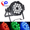 18 * 15W RGBWA 5 en 1 iluminación LED Studio, Studio LED Spot Light, LED Light Studio