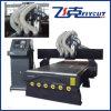 Máquina de talla de madera del ranurador del CNC del Atc de 3 cabezas