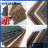 Comitato composito di alluminio ASP del rivestimento di PE/PVDF con colore di marmo/di legno