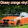 Лоснистое Orange Car Color Change Film, Car Wrapping Film, 1.52X30m